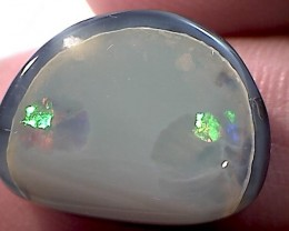8.25ct 'Half Moon' shaped Boulder Opal, Australia NR10