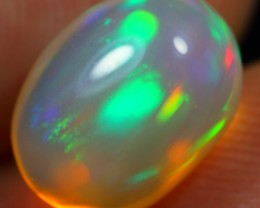 2.85cts WONDERFUL RAINBOW Natural Untreated Ethiopian Opal