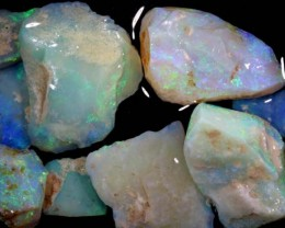 50 CTS COOBER PEDY WHITE OPAL ROUGH PARCEL DT-6294