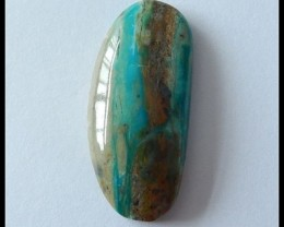 21.65 Ct Natural Peruvian Opal Cabochon
