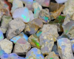 99.6Ct Ethiopian Welo Solid Rough Opal Parcel Lot