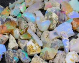 98.6Ct Ethiopian Welo Solid Rough Opal Parcel Lot