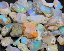 112.3Ct Ethiopian Welo Solid Rough Opal Parcel Lot