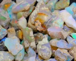 130.5Ct Ethiopian Welo Solid Rough Opal Parcel Lot