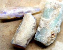 38CTS  OPAL FOSSIL BELEMNITE (PARCEL) FO-467