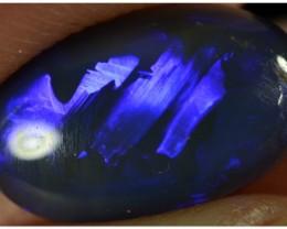 2.05ct Black Opal - ID:20195 Broad flash pattern
