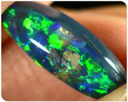 1.70ct Black Opal - ID:20510 Top black opal GEM with N2 body tone