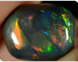 2.65ct Black Opal - ID:20010 MAGNIFICENT BLACK OPAL GEM EXTREMELY BRIGHT
