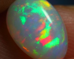 1.60cts STUNNING 5/5 Rainbow Natural Untreated Ethiopian Welo Opal