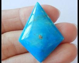 22 CT Natural Blue Opal Cabochon,Gorgeous!