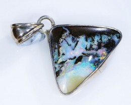 25.00 BOULDER OPAL PENDANT -FACTROY DIRECT [SOJ5138 ]
