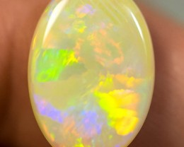 LIGHTNING RIDGE SOLID NATURAL CRYSTAL OPAL 5.35ct GEM COP310116