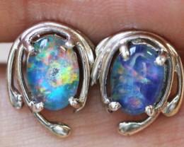 Cute triplet  opal earrings sets BU 1180