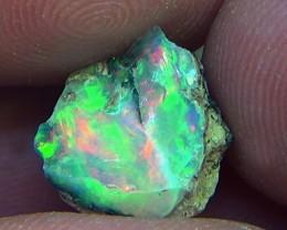15.80 cts Ethiopian Welo opals rough parcel 5pcs