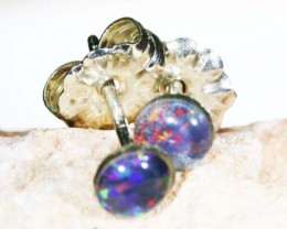 Cute triplet  opal earrings sets BU 1197