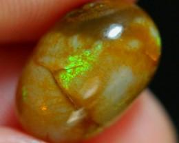 3.91ct Sunshine Color Natural Ethiopian Welo Crystal Polished Specimen Opal