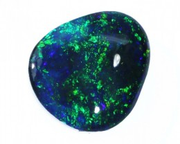 2.85 CTS BLACK  OPAL - LIGHTNING RIDGE- [SO6804]