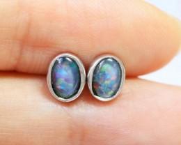 Cute Triplet Silver Earring  BU 1236