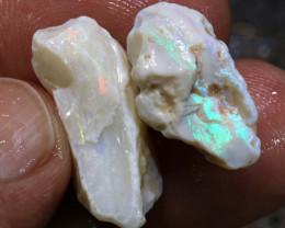 26.95CTS Coober Pedy White Opal Rough Parcel DT-6552