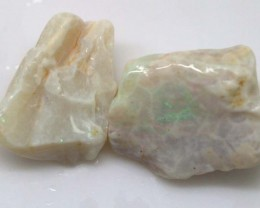 26.90 CTS COOBER PEDY WHITE OPAL ROUGH PARCEL DT-6553