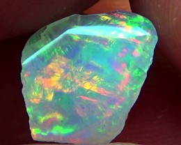 3.20 cts Ethiopian Welo BRUSH STROKES crystal opal N9 5/5