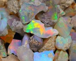 74.33Ct ~ 21Pcs Ethiopian Welo Rough Opal Lot