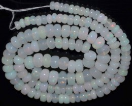 66.20 Ct Natural Ethiopian Welo Opal Beads Play Of Color