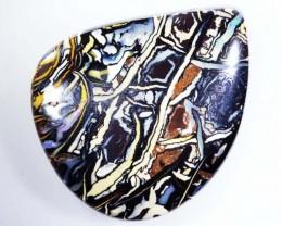 58.1 CT  Pattern Chocolate Boulder Opal  BU 1304