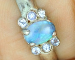 7 RING SIZE SOLID L OPAL -FACTORY DIRECT [SOJ1500]