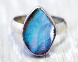 Boulder Opal Rings
