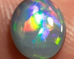 LIGHTNING RIDGE SOLID SEMI-BLACK OPAL 1.11ct GEM $1 N/R SBOP280216