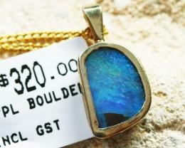 Doublet set in silver Pendant312171-30