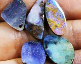 19 CT  Five  Boulder Opal  BU 1373