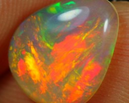 1.70cts Fabulous Multi Color Natural Untreated Ethiopian Welo Opal