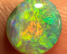 LIGHTNING RIDGE SOLID SEMI-BLACK OPAL 1.69ct GEM  SBOPE060316