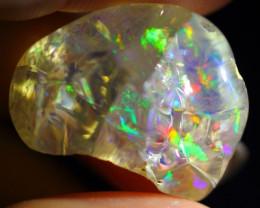 22.84Ct Polished Rough ~ Ethiopian Welo Specimen Crystal Rough Opal