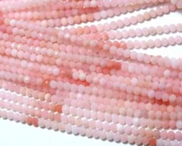 22 CTS PINK FACETED OPAL BEADS TBO-4386