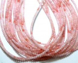 22 CTS PINK FACETED OPAL BEADS TBO-4394