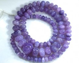 134 CTS PLAIN PURPLE OPAL BEADS TBO-4402
