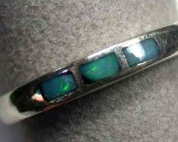 CUTE OPAL INLAY RING SIZE 6. MYJA 903