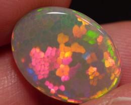 8.00 cts Gorgeous Hexagon Honeycomb Ethiopian Welo Opal
