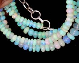 46 CTS ETHIOPIAN OPAL BEADS TBO-4475