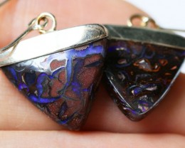Yowah Opal Earrings