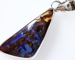 BOULDER OPAL PENDANT -FACTROY DIRECT [SOJ1598 ]
