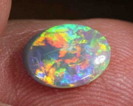 1.30 CTS  BLACK OPAL FROM LR - $299