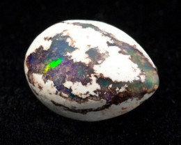 8.75ct Mexican Fire Opal Matrix Cabochon Pear (MO407)