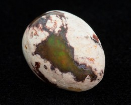 14.1ct Mexican Fire Opal Matrix Cabochon Pear (MO411)
