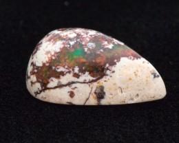 21.25ct Mexican Fire Opal Matrix Cabochon Pear (MO413)