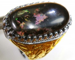 INDONESIAN OPAL RING 56  CTS OF-1325