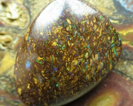 44cts.BOULDER MATRIX OPAL, 2 SIDED OPAL;